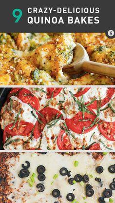 These 9 Quinoa Bakes Are a Cheese-Lover's Dream Come True #healthy #cheese #quinoa