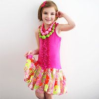 Designed in Barcelona, Spain, Sophie Catalou's cosmopolitan fashions showcase super-cuddly cotton fabrics and knits with timeless prints and yarn dyes. Bursting with bold colors, ruffles, ribbons and bows, these sweet separates are every girly girl's dream. Each piece is treated for maximum quality, comfort and easy care. We love the coordinating colors that make mixing and matching a breeze.
