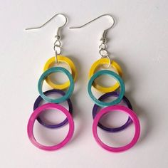 Check out this item in my Etsy shop https://www.etsy.com/listing/238027298/overlapping-ring-styled-earrings-made