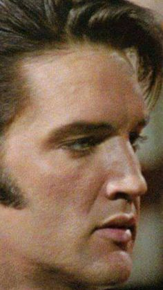 Great close-up photo of Elvis Presley