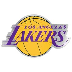 WinCraft Los Angeles Lakers 7.5 x 4.25 Auto Emblem Decal