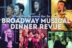DinnerTheatre at the Old Sea Pines Inn-Cape Rep Theatre's Broadway Musical Revue. June 16- September 1, 2013. Brewster, Cape Cod