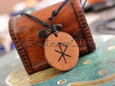 Love Talisman Viking Amulet Rune Necklace Attract Love
