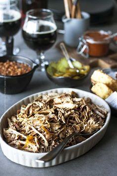 The Best Beer Pulled Pork Recipe (Slow Cooker) Pulled Pork Recipe Slow Cooker, Pulled Pork Recipes, Slow Cooker Pork, Slow Cooker Recipes, Crockpot Recipes, Cooking With Beer, Cooking Time, Braised Pork Chops, Pulled Pork Nachos