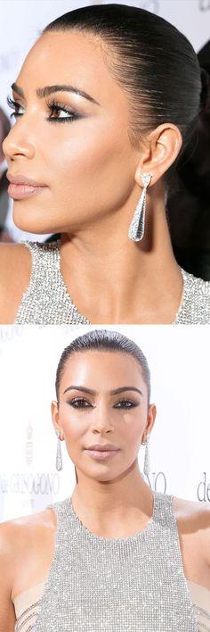 Kim Kardashian Cannes contour jewellery
