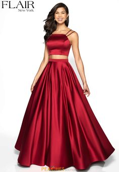 Shop long formal dresses and formal evening gowns at Simply Dresses. Women's formal dresses, long evening gowns, floor-length affordable evening dresses, and special-occasion formal dresses. Two Piece Long Dress, Prom Dresses Two Piece, Pretty Prom Dresses, Prom Dresses For Teens, Prom Outfits, Plus Size Prom Dresses, Ball Dresses, Homecoming Dresses, Ball Gowns