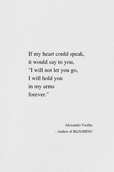 If My Heart Could Speak | Alexandra Vasiliu