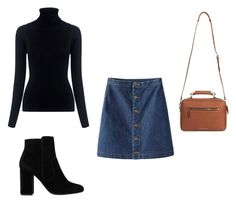 """""""Summer"""" by felisialuissela on Polyvore featuring M.i.h Jeans and MANGO"""