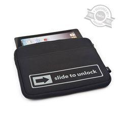 Tablet case Slide to Unlock neoprene - Balvi