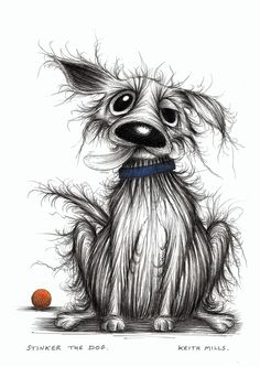 Stinker the dog Horrible looking pooch - Keith Mills