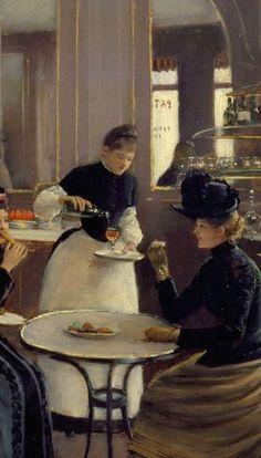 Jean Beraud Patisserie Gloppe 1886 Detail