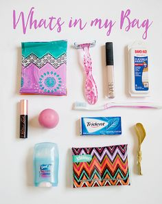 Simply Girly: My Oh Crap bag Love this idea for back to school for older girls