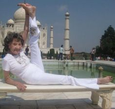 6 Inspirational Yogis in Their 90s!