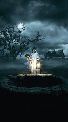 Annabelle Creation movie poster mobile wallpaper