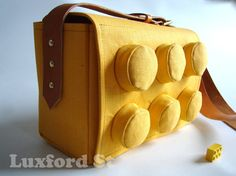 Block Bag  Lego We Love You by luxfordst on Etsy