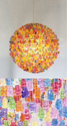 "The ""Candelier"" by Kevin Champeny for Jellio - Installation or lamp?"