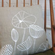 lotta jansdotter echo fabric pillow