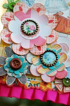 Embellishments for scrapbooks and greeting cards! I'm gonna make my own!
