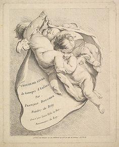 Frontispiece Louis Félix de La Rue (French, Paris 1731–1765 Paris) Artist: After François Boucher (French, Paris 1703–1770 Paris) ...