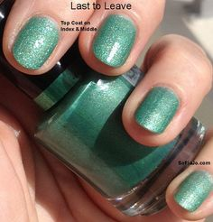 Last to Leave Matte Nail Polish from Party Time Collection