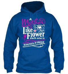 Flower Mom Limited Edition Royal Sweatshirt Front