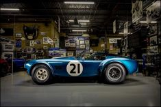 One of the most desirable of all Cobras, CSX2345 was one of five 289 FIA roadsters. This original competition car has survived unscathed for 50 years, just as it was when Bob Bondurant booted it up the hill at Rossfeld in southern Germany on June 13, 1965 for the GT win. Photo by David Schlatter. Car Museum, Ac Cobra, Shelby Gt500, Bouldering, Race Cars, Survival, David, The Originals, Tigers