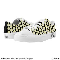 Shop Watercolor Polka Dots Low-Top Sneakers created by BeeBeeDeigner. Kids Sneakers, Sneakers Fashion, Fashion Forward, Athletic Shoes, Baby Shoes, Polka Dots, Slip On, Pairs, Purses