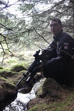 Daedalus in action at Section8 Airsoft in Scotland 2011