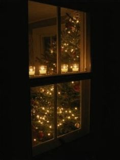In Colonial America, a candle in the window was used to honor dignitaries, announce births and just plain celebrate.Every Christmas in Williamsburg, window candles are illuminated in each window of that community to commemorate an old fashioned Christmas.