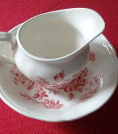 ensemble bol et pichet a lait , Alfred Meakin - 50 % Alfred Meakin, Tea Cups, Milk, Collections, Tableware, Etsy, Dinnerware, Tablewares, Dishes
