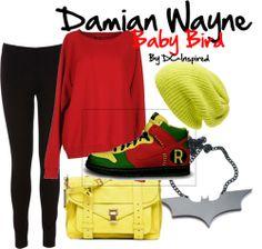 Damain Wayne Outfit (For Women)