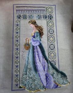 My 3rd Lavender and Lace completed. Celtic Summer.