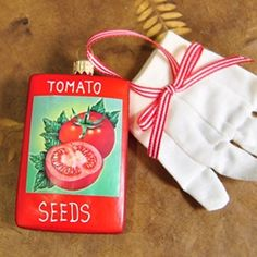 antique tomato seed packet