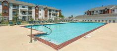 Gated Pool and Tanning Deck  Harrison Place Apartments http://www.harrisonplaceliving.com/ 844-243-6783 5812 Beatle Drive Indianapolis, IN 42612
