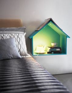 Bedside table - like having  your own little doll house