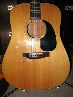 STUNNING 1970 Martin D-18 Acoustic Guitar with original paperwork!