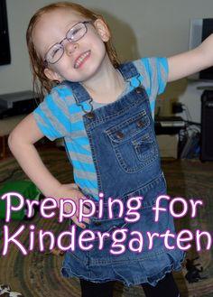 Preparing for Kindergarten - Ideas for each subject.  :)