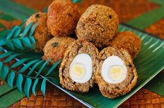 Mum's Indian Scotch Eggs Recipe - Best Home Chef #indian #parties #entree
