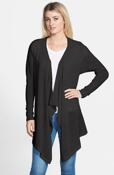 Free shipping and returns on Nordstrom Cascade Waterfall Cashmere Cardigan at Nordstrom.com. An elegant layer for every season, this waterfall cardigan is knit from supersoft cashmere.