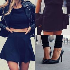 Image via We Heart It https://weheartit.com/entry/164489163 #blackandwhite #cool #dress #fashion #girly #shoes #skirts #style #tattos #2015 #loveit