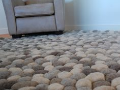 Teppe av filtkuler