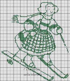Four beautiful scheme for children Diagrams can be used for curtains or blankets for children. All are nice but needs a little mo. Blackwork, Cross Stitch For Kids, Filet Crochet, Ribbon Embroidery, Needle And Thread, Needlepoint, Cross Stitch Patterns, Monochrome, Needlework