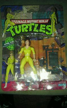 Original 1988 Teenage Mutant Ninja Turtles April Oneil