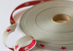 20MM RED /GREY STARS DOUBLE SIDED PRINT http://www.myinspiredplace.com/product/20mm-red-grey-stars-double-sided-print/