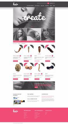 plantillas prestashop responsive profesionales moda y belleza  #initcoms #prestashop #plantillas #plantillas-prestashop #themes #disenoweb #responsive