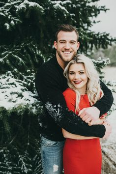 "fit-preppy-gent: "" dwts-women: "" Witney Carson and Carson McAllister - Winter Wonderland Engagement Photos "" Goals as fuck "" Winter Engagement Photos, Engagement Couple, Engagement Ideas, Fall Engagement, Country Engagement, Engagement Shoots, Witney Carson Wedding, Photo Couple, Couple Photos"