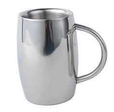 VanDay Stainless Steel Coffee Mugs Tea Cup Double Wall Design (10 OZ) VanDay http://www.amazon.com/dp/B00P2EXXJ4/ref=cm_sw_r_pi_dp_TE15ub1SHFD3J