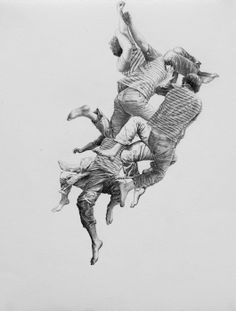 Hyacinth - SOLD |  5 x 7 Inches | Graphite and Ink on Paper | 2012