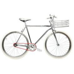 Check out this item at One Kings Lane! Men's Large Regard Bike, Silver