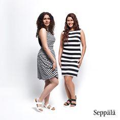 Somaya ja Karoliina esittelevät Pure Waste Textilesin ja Seppälän yhteistyömallistoa.